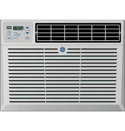 GE AEM18DQ Window / Wall Air Conditioner Cooling Area, |Appliances Connection