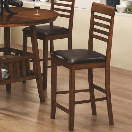 Coaster 102539 Knoxville Series Transitional Vinyl Wood Frame Dining Room Chair