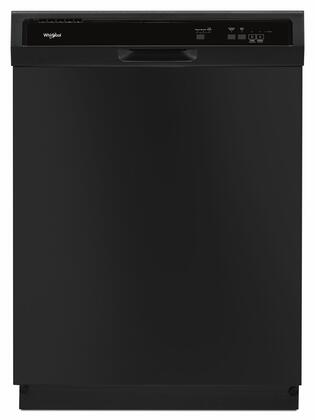 """Whirlpool WDF130PAHx 24"""" Built-In Dishwasher with 3 Wash Cycles, 63 dBA Sound Level, Removable Water Filtration System, Star-K Compliant and Heated Dry, in"""