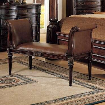 Yuan Tai FA3508B Fabiana Series  Wood Bench