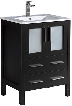 "Fresca FCB6224XXX Torino 24"" Modern Bathroom Cabinet with X Sink in"