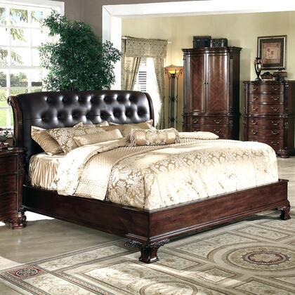 Yuan Tai DA5901K Dasan Series  King Size Panel Bed