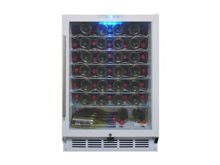 Vinotemp VT-WC58GNV-10 58 Bottle Front Venting Wine Cooler With Multi-Zone