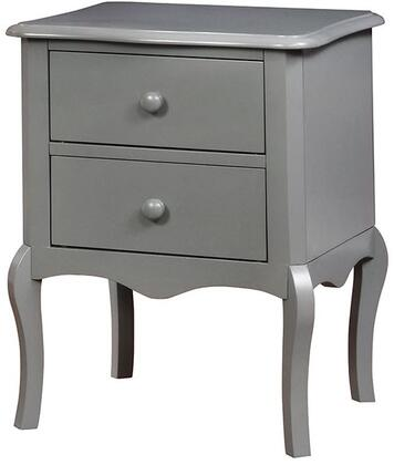 Furniture of America CMAC325GY Lexie Series  Night Stand