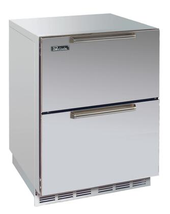 Perlick HP24FS5DNU Signature Series Built-In Upright Counter Depth Freezer