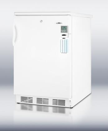 Summit FF6L7BIMED Med Series Compact Refrigerator with 5.5 cu. ft. Capacity in White