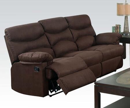 Acme Furniture 10630  Stationary Microfiber Sofa
