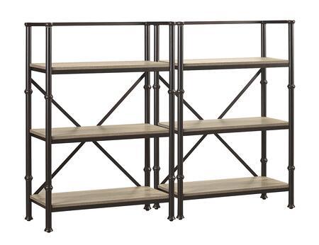Turnkey Products LBDURKBS44X2 Durham Bookcases
