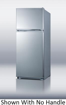 Summit FF882SLVSSCH  Refrigerator with 8.86 cu. ft. Capacity in Stainless Steel