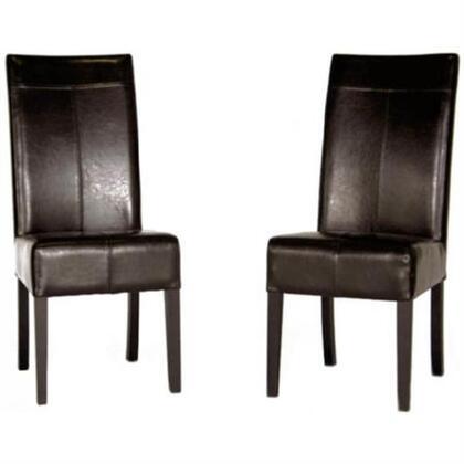 Wholesale Interiors Y006001DARKBRN  Dining Room Chair