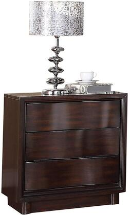 Acme Furniture 20523 Travell Series Rectangular Wood Night Stand