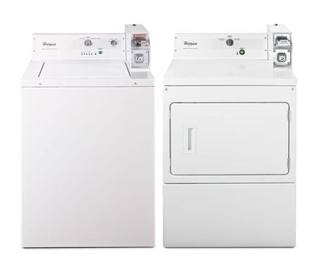 Whirlpool 344848 Commercial Laundry Washer and Dryer Combos