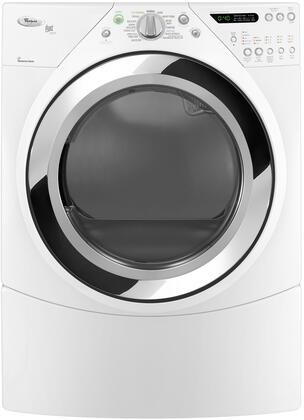 Whirlpool WED9750WW Duet Steam Series 7.5 cu. ft. Electric Dryer, in White