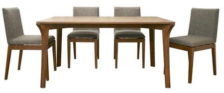 Wholesale Interiors MIER5PIECESET Mier Dining Room Sets