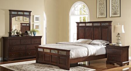 New Classic Home Furnishings 00455110120130DMN Madera King B