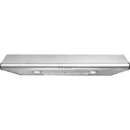Frigidaire FHWC3x40MS Standard Under Cabinet Hood With 330 CFM External Exhaust, Dual Halogen Lights, Convertible Exhaust Duct Options, Dishwasher-Safe Filters