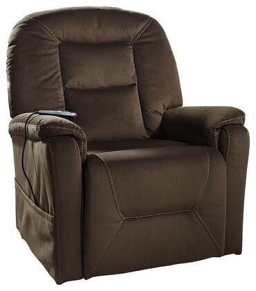 Signature Design by Ashley 2080112 Samir Series Contemporary Fabric Metal Frame  Recliners