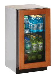 "U-Line 3018RGLOL00 3.6 cu. ft. Capacity 18"" Modular 3000 Series Built In Compact Beverage Center"
