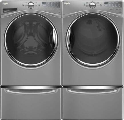 Whirlpool Wed90hefc 27 Inch Electric Dryer With 7 4 Cu Ft