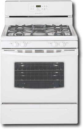 Frigidaire FGF382HS  Gas Freestanding Range with Sealed Burner Cooktop, 5.0 cu. ft. Primary Oven Capacity, Storage in White