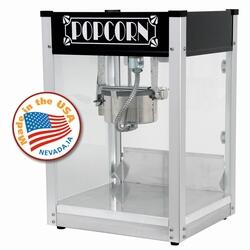 Paragon 11045X0 Gatsby Popcorn Machine with High-Output, Hard-Coat Anodized Aluminum Kettle