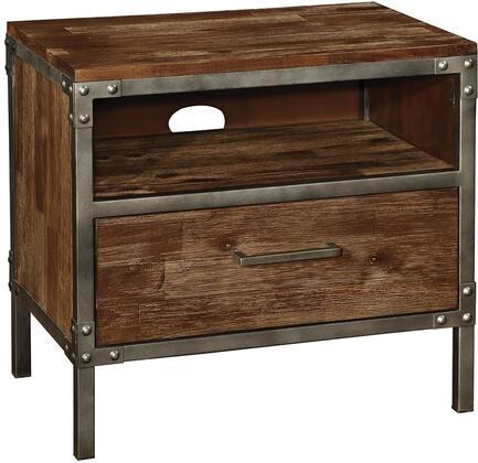 Coaster 203802 Arcadia Series Rectangular Wood Night Stand