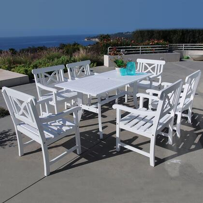 Vifah V1337SET9 Patio Tables