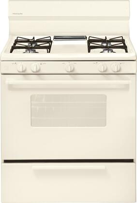 "Frigidaire FFGF3005M 30"" Freestanding Gas Range with 4 Open Burners, 4.2 cu. ft. Oven Capacity, Broiler Drawer, and Electronic Ignition, and Interior Light"
