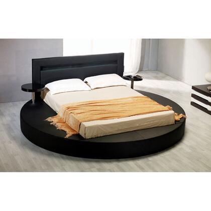 VIG Furniture VGKCPALAZZOQBLK  Queen Size Platform Bed
