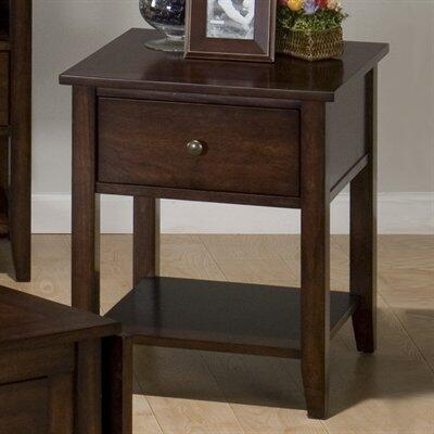 Jofran 3543 Transitional Rectangular 1 Drawers End Table