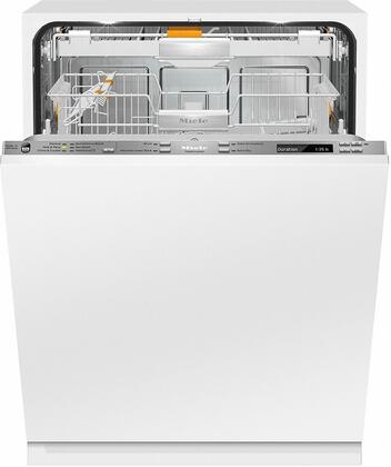 "Miele G688xSCVIx 24"" Futura Diamond Series Energy Star Qualified Dishwasher with Fully Integrated Control Panel, 14 Wash Programs, 16 Place Settings, 3D Cutlery Tray, and Knock2Open, in Panel Ready"