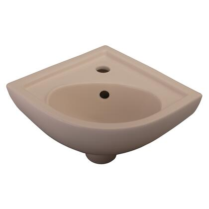 Barclay 4745 Petite Wall Hung Corner Basin in