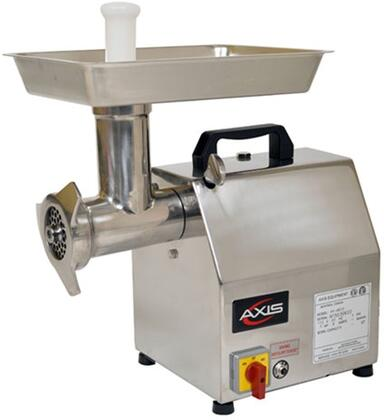 Axis AXMGx2 Meat Grinder with Blade Speed of 170 RPM, Forward and Reverse Switch, Compact Size, in Stainless Steel