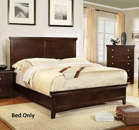 Furniture of America CM7113CHEKBED Spruce Series  Eastern King Size Bed