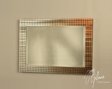 Nova WM32442 Bronze Grid Series  Wall Mirror