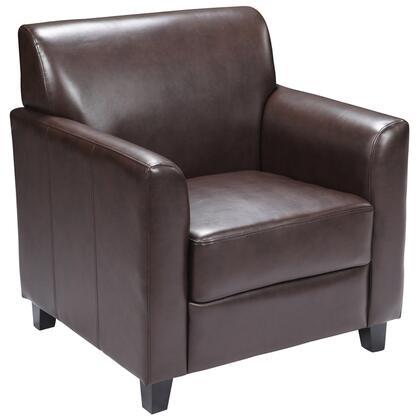 Flash Furniture BT8271GG HERCULES Diplomat Series Leather Chair