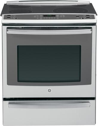 "GE Profile PS920SFSS 30"" Slide-in Electric Range with Smoothtop Cooktop, 5.3 cu. ft. Primary Oven Capacity, Warming in Stainless Steel"
