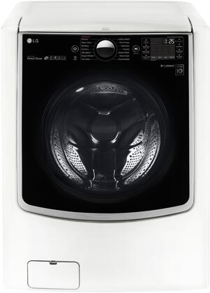 "LG WM9000H 29"" Energy Star Rated Front Load Washer with 5.2 cu. ft. Capacity, 14 Wash Programs & 12 Options, Turbo Wash Technology and TrueBalance Anti-Vibration System in"