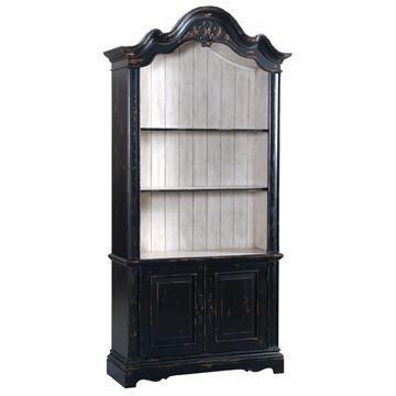 Ambella 24020800001Fairfield Series Wood 2 Shelves Bookcase