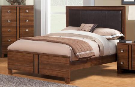 Sandberg 339C Donatella Series  King Size Panel Bed