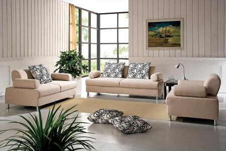 VIG Furniture VGDM2922 Modern Fabric Living Room Set