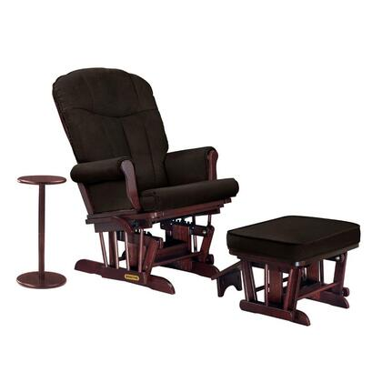 Shermag 37437CB4701 Cherry Combination Glider with FREE Ottoman