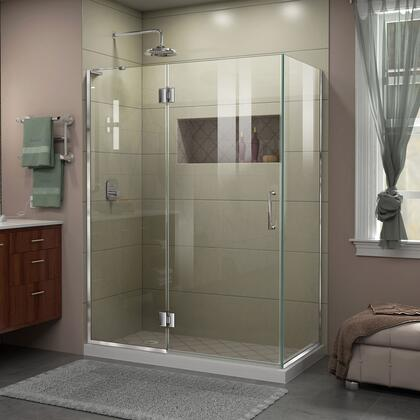DreamLine Unidoor X Shower Enclosure 24HP 30D 30RP 01