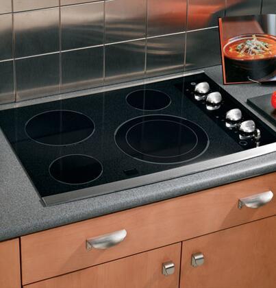 GE JP356SMSS CleanDesign Series Electric Cooktop