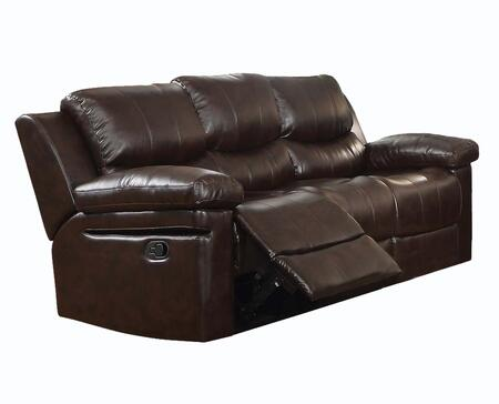 Acme Furniture 52140 Xenos Series  Leather Sofa