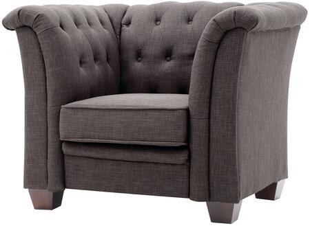 Glory Furniture G325C Fabric Armchair in Grey Fabric