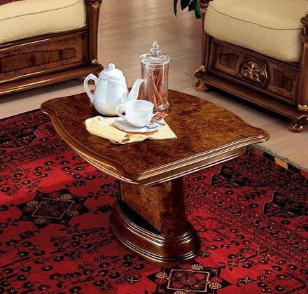 VIG Furniture VGCAKLASSICACT Modrest Klassica Series Modern Wood Rectangular None Drawers End Table