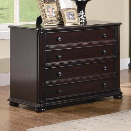 "Coaster 801004 36"" Wood Traditional File Cabinet"