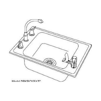 Elkay DRKAD2517552  Sink