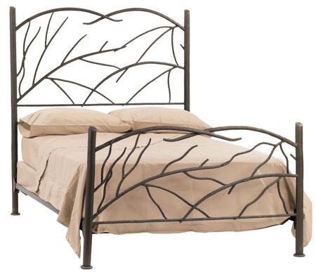 Stone County Ironworks 904718  Queen Size Complete Bed